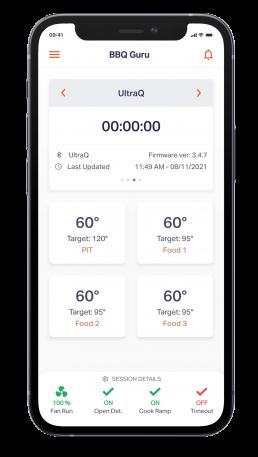BBQ Guru App mobile